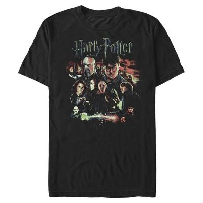 Men's Harry Potter Character Group Shot T-Shirt