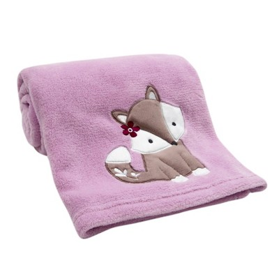 Bedtime Originals Soft Baby Blanket - Lavender Woods