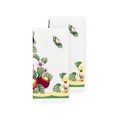 "Villeroy & Boch - French Garden Kitchen Towel, Set of 2 - 18"" x 28"""