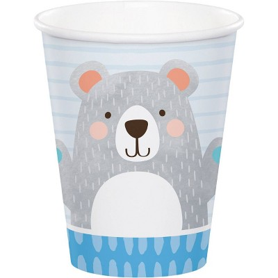 24ct Bear Print Party Cups