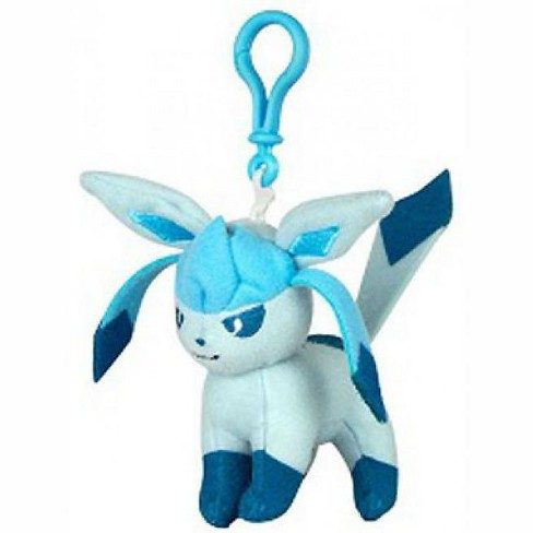Pokemon Glaceon 3-Inch Plush Hanger Clip On - image 1 of 1