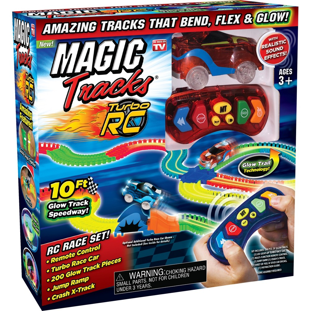 Image of As Seen on TV Magic Tracks Radio Control Toy Vehicles