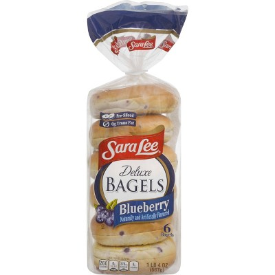 Sara Lee Blueberry Bagels - 20oz