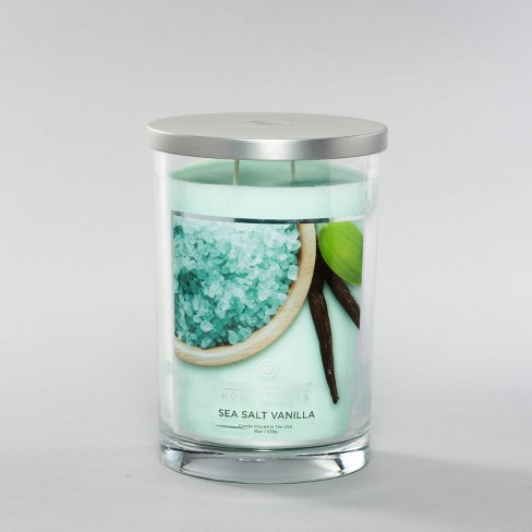 Jar Candle Sea Salt Vanilla - Home Scents by Chesapeake Bay Candles - image 1 of 3