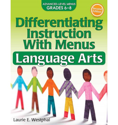 Differentiating Instruction With Menus Language Arts : Advanced-Level Menus Grades 6-8 -  (Paperback) - image 1 of 1