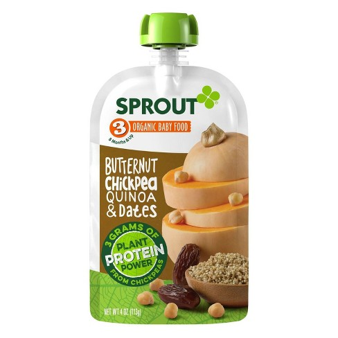 Sprout Baby Food, Butternut Chickpea Quinoa & Dates - 4oz - image 1 of 2