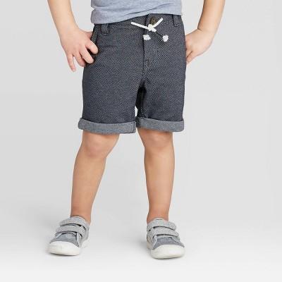 Toddler Boys' Dressy Chino Shorts - Cat & Jack™ Navy 12M
