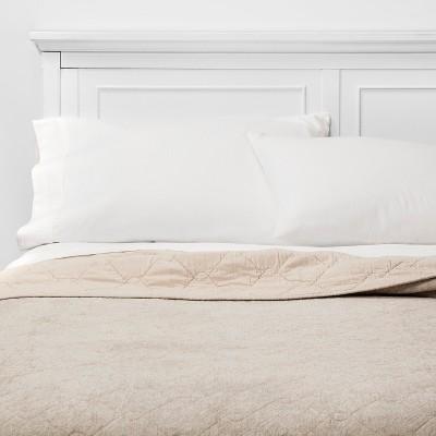 Full/Queen Chenille Quilt Cream - Threshold™