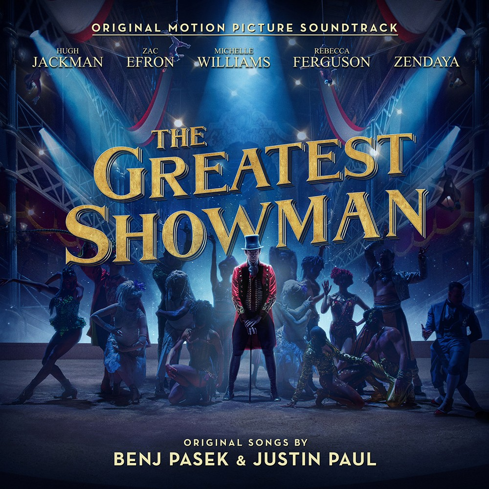 Various Artists The Greatest Showman Original Motion Picture Soundtrack Cd