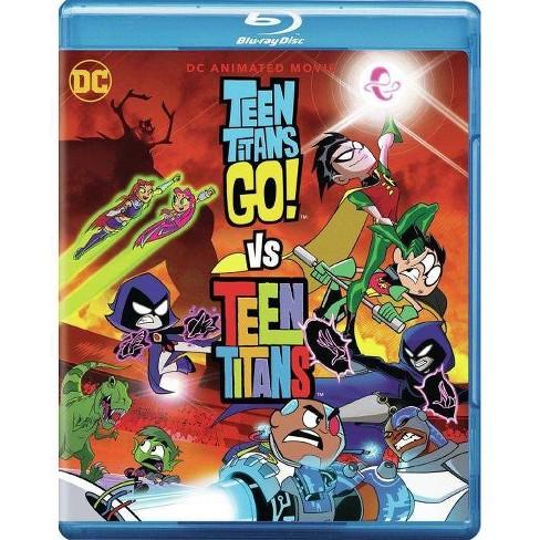 Teen Titans Go! Vs Teen Titans (Blu-ray) - image 1 of 1