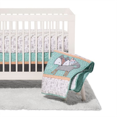 Trend Lab 3pc Crib Bedding Set - Sawyer