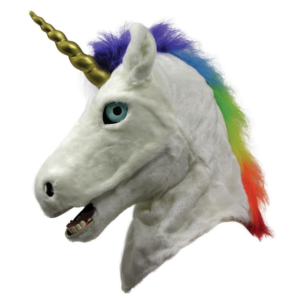 Image of Adult Moving Jaw Unicorn Mask, Women's