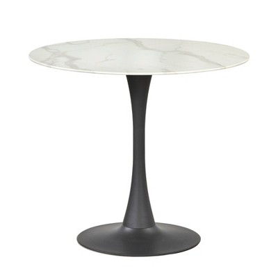 """36"""" Rho Round Dining Table White - Buylateral"""