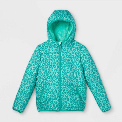 Girls' Reversible Puffer Jacket - Cat & Jack™