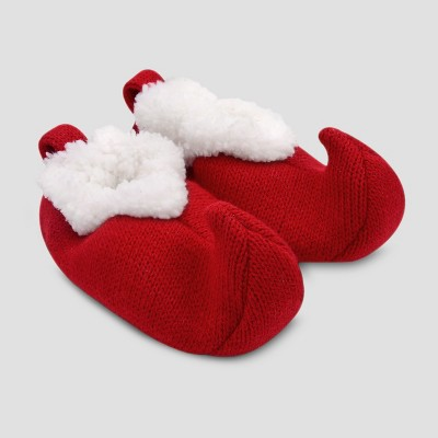 Baby's Constructed Slipper Elf - Just One You® made by carter's Red 0-6M