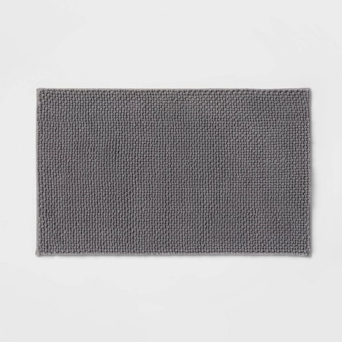 Low Chenille Memory Foam Bath Rug - Threshold™ - image 1 of 3