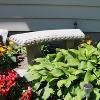 """Emsco 34"""" Resin Garden Bench Statuary - image 2 of 4"""