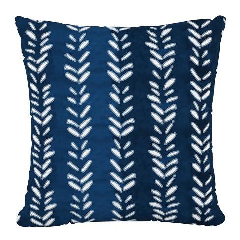 Flutter Shibori Outdoor Throw Pillow Indigo Skyline Furniture Target