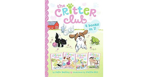 Critter Club : Amy and the Missing Puppy / All About Ellie / Liz Learns a Lesson / Marion Takes a Break - image 1 of 1