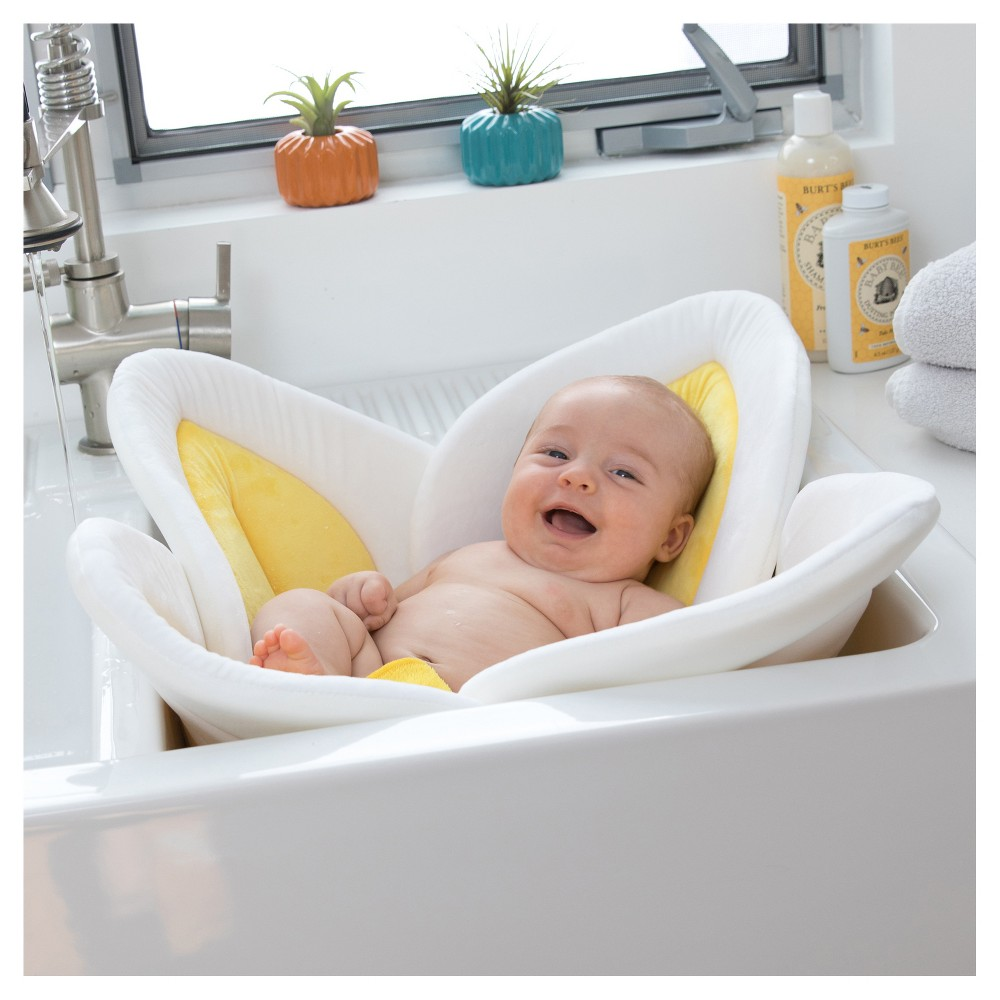 Image of Blooming Bath - Bath Cushion - Yellow