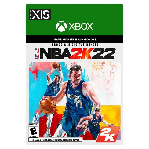 NBA 2K22 Cross-Gen Digital Bundle - Xbox Series X S/Xbox One (Digital) - image 1 of 4