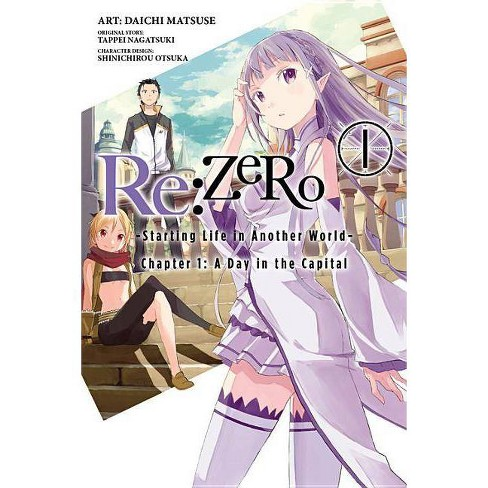 RE: Zero -Starting Life in Another World-, Chapter 1: A Day in the Capital, Vol. 1 (Manga) - (Paperback) - image 1 of 1