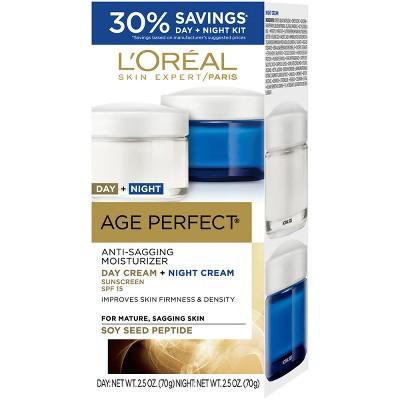 L'Oréal Paris Age Perfect Anti-Sagging Day and Night Cream - Kit