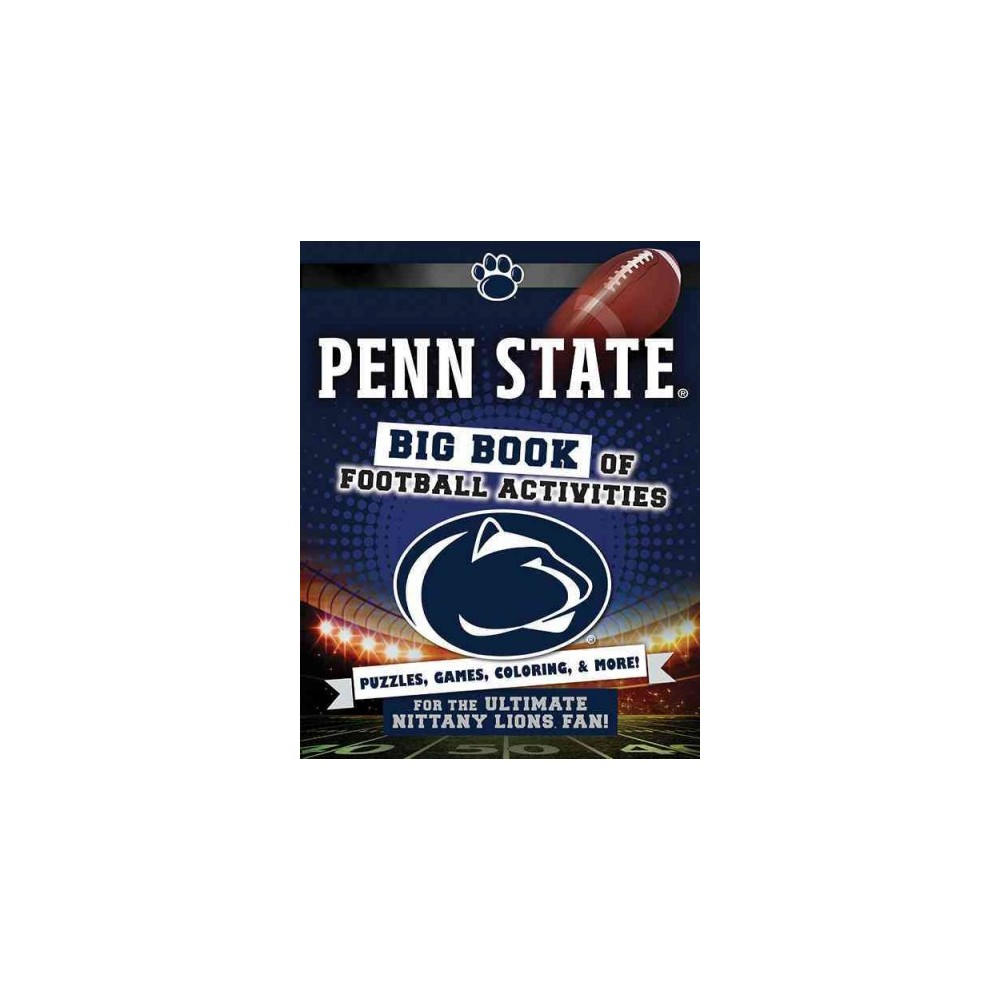Penn State : Big Book of Football Activities (Paperback) (Peg Connery-Boyd)