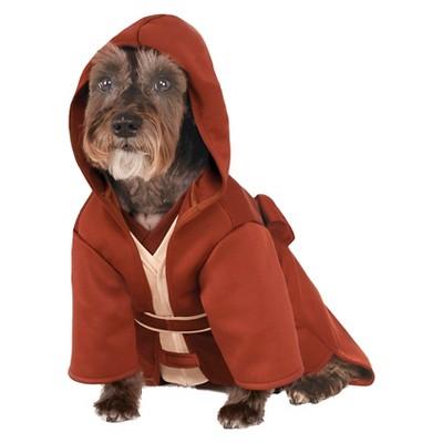 Star Wars Jedi Robe Dog and Cat Costume - S