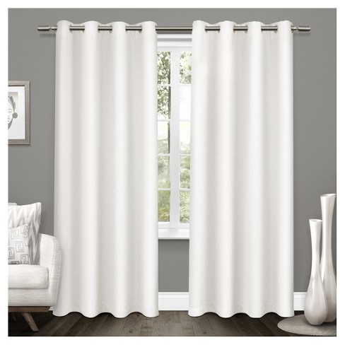 Window Curtain Panel White