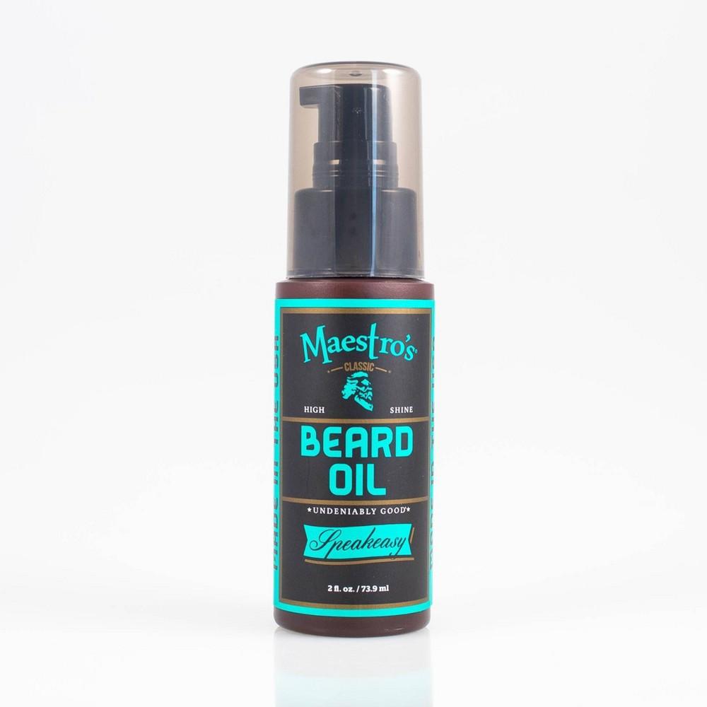 Image of Maestros Classic Speakeasy Blend Beard Oil - 2oz