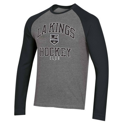 NHL Los Angeles Kings Men's Long Sleeve Raglan T-Shirt - L