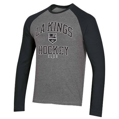 NHL Los Angeles Kings Men's Long Sleeve Raglan T-Shirt - L - image 1 of 2