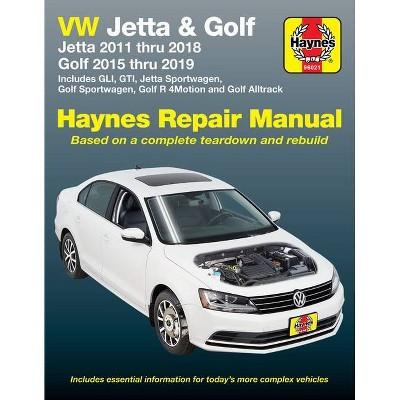 VW Jetta and Golf Haynes Repair Manual - (Haynes Automotive) (Paperback)
