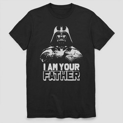 Men's Star Wars I Am Your Father Short Sleeve Graphic T-Shirt - Black