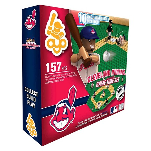 OYO Sports Game time Set 157 Piece Building Blocks - Cleveland Indians - image 1 of 2