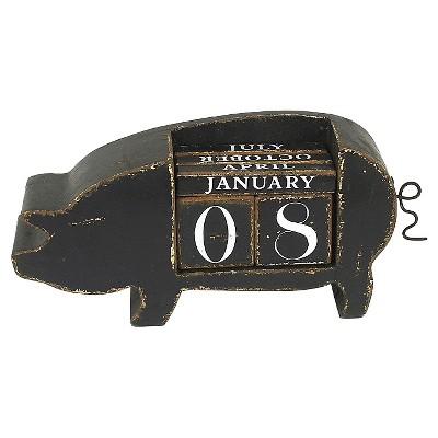 Pig Perpetual Calendar
