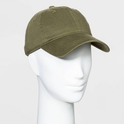 women's Baseball Hats - Universal Thread™ Olive One Size
