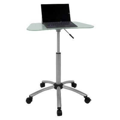 Computer Stand - Light Silver - Studio Designs