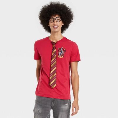 Men's Harry Potter Short Sleeve Graphic T-Shirt Set - Red
