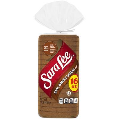Sara Lee Classics 100% Whole Wheat Bread - 16oz