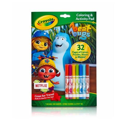 Crayola® Coloring & Activity Pad - Beat Bugs : Target