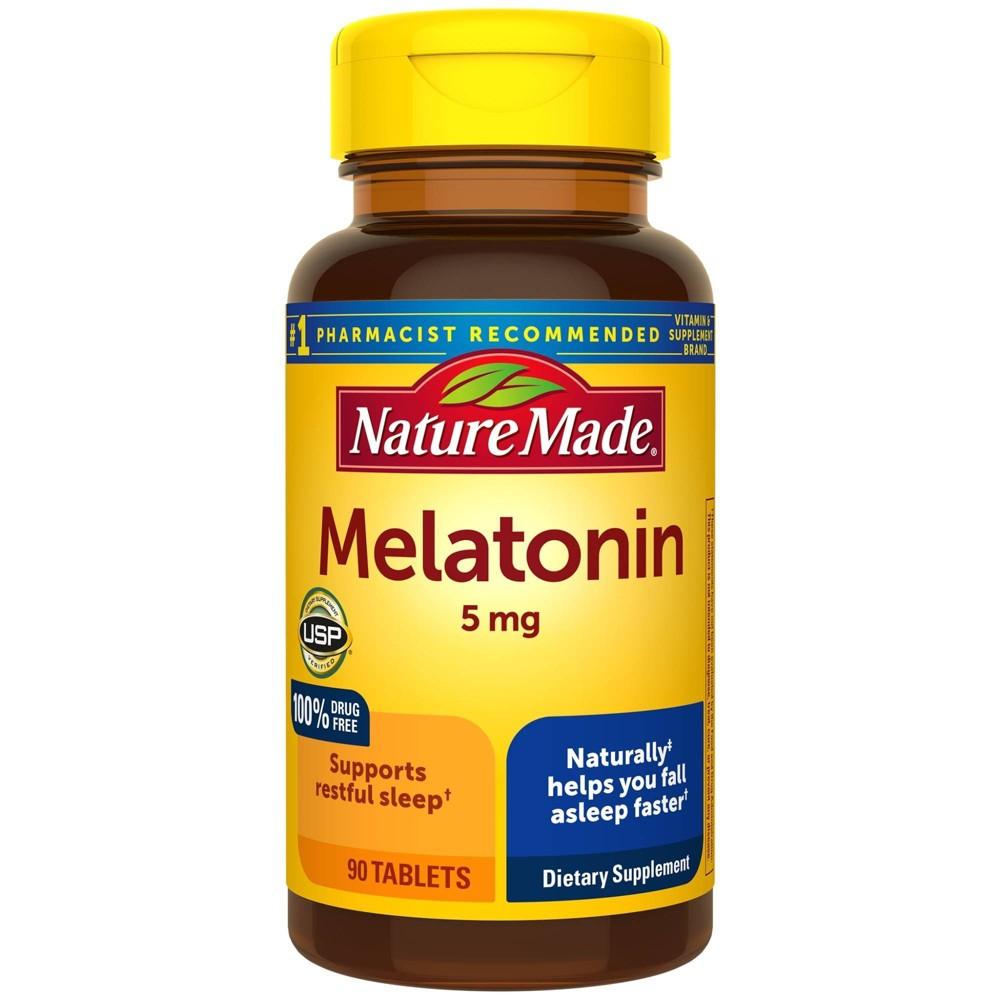 Nature Made Melatonin 5 Mg Tablets 90ct