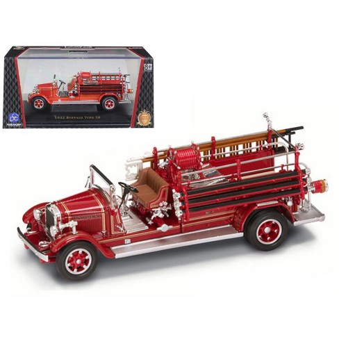 1932 Buffalo Type 50 Fire Engine Red 1/43 Diecast Car Model by Road Signature - image 1 of 1