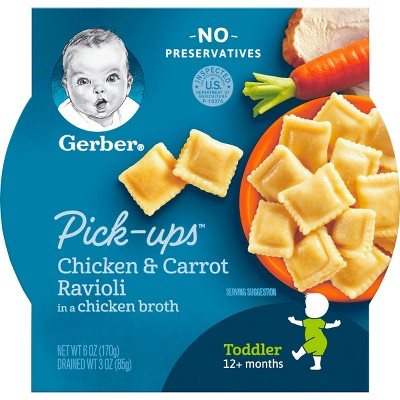 Baby Food: Gerber Pick-ups