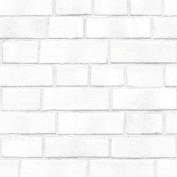 Textured Brick Peel & Stick Wallpaper White - Threshold™