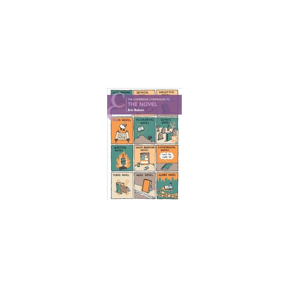 Cambridge Companion to the Novel - (Cambridge Companions to Literature) (Paperback)