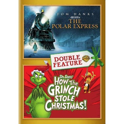 Polar Express / How The Grinch Stole Christmas (DVD)(2016)