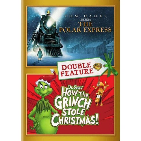 Polar Express / How The Grinch Stole Christmas (DVD)(2016) - image 1 of 1