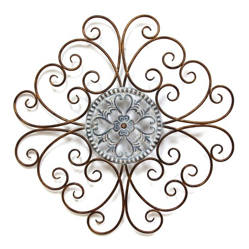Scroll Medallion Wall Decor - Stratton Home Decor - image 1 of 2